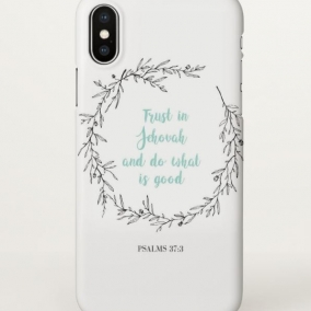 Trust in Jehovah Phone Case