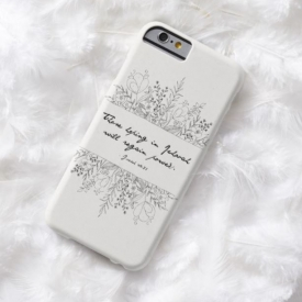 2018 Year Text Phone Case