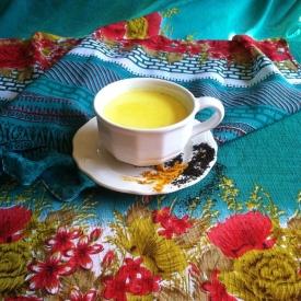Turmeric Milk Tea (the Golden Milk)