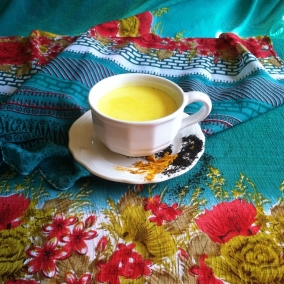 Turmeric Milk Tea (the Golden Milk)