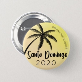 Always Rejoice – Santo Domingo Button Pins SPANISH 50PK