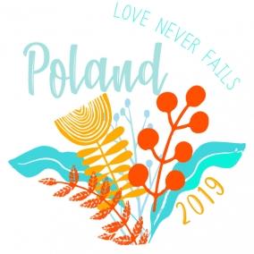 Love Never Fails – Poland Stickers