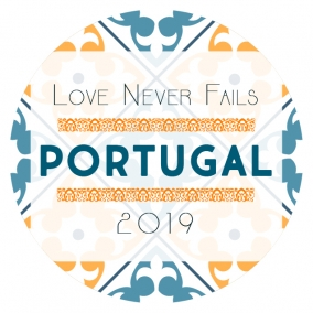 Love Never Fails – Portugal Stickers