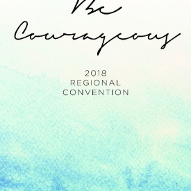 2018 Regional Convention Notebook – Watercolor