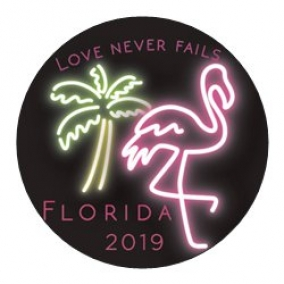 Love Never Fails – Florida Stickers