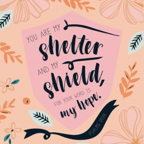 You Are My Shelter Digital Print