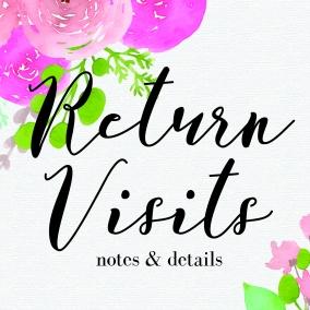 Return Visit Book