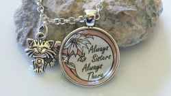 Always Sisters Always There necklace