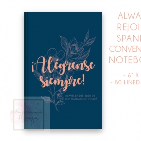 Always Rejoice – SPANISH Notebook