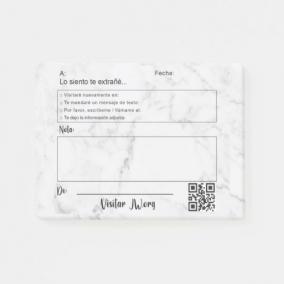 SPANISH Ministry Sticky Notes