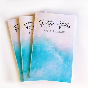 Return Visit Book – Blue