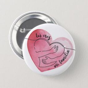 Tú Eres Mi Familia Button Pins – 50 Pack