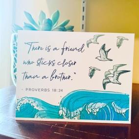 Greeting Card Set – Prov.18:24