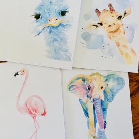 Animal Greeting Card Set