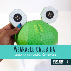 3D Wearable Caleb Frog Hat – JW Game
