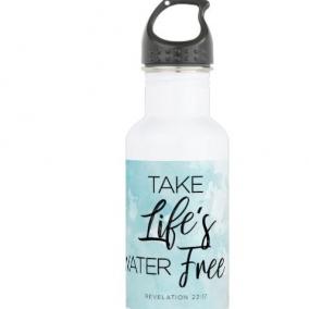 Take Life's Water Free Water Bottle
